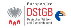 Logo des Europabüro des DStGB